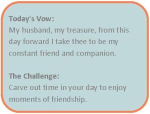 friendship vow