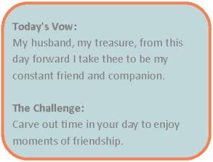 friendship vow
